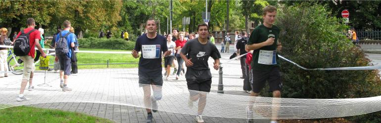 Lauf mit Herz